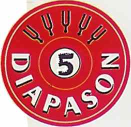 5 diapasons